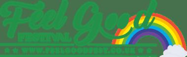 Feel good festival rainbow logo